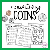 Counting Coins- Money Activities and Centers