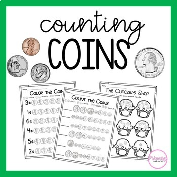 Counting Coins And Money Teaching Resources | Teachers Pay Teachers