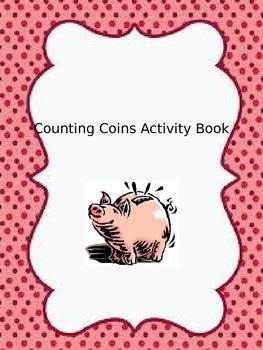 Counting Coins Activity Book