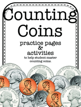 Counting Coins Activity Pack