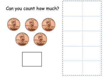 Counting Coins- Adapted Book