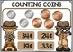 Counting Coins BOOM CARDS