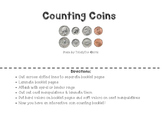 Counting Coins Booklet