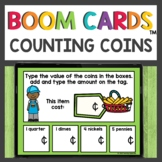 Counting Coins Boom Cards™ Digital Activities