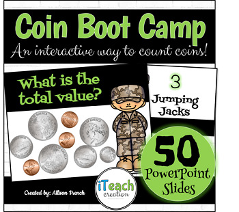 Counting Coins Boot Camp