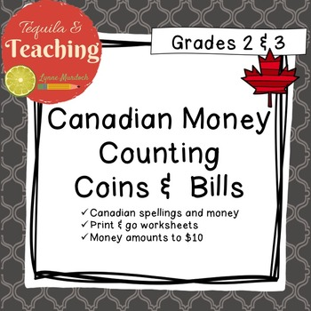 Counting Coins And Bills Worksheets Teaching Resources | Teachers ...