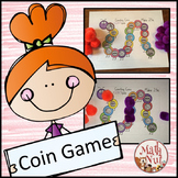 "Counting Coins Game ""Money Center"""