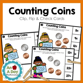 Counting Coins: Clip, Flip, and Check