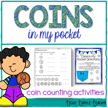 Counting Coins - Coins in my Pocket - 2.MD.8