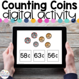 Counting Coins - Digital Activity - Distance Learning for