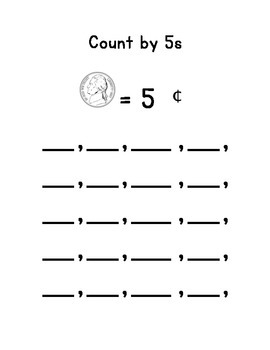 Counting Coins - Dimes, Nickels, and Pennies