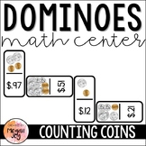Counting Coins - Dominoes Math Game