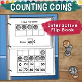 Counting Coins Flip Book