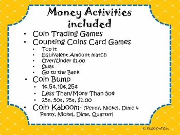 Counting Coins Fun & Games