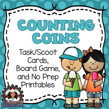 Counting Coins Game and Printables
