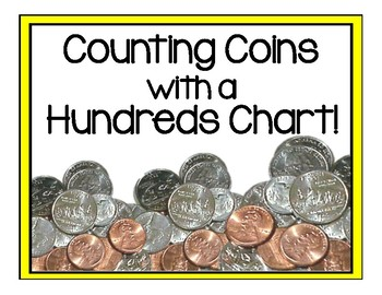 Counting Coins Hundreds Chart
