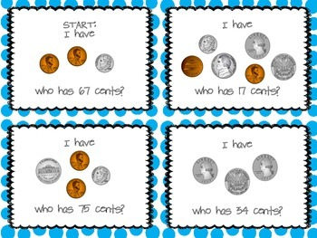 Counting Coins I Have Who Has