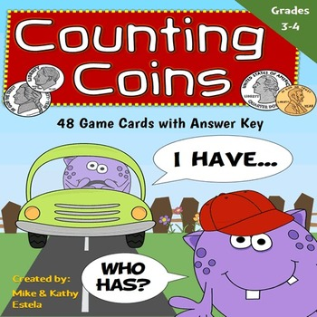 Counting Coins I Have, Who Has Game