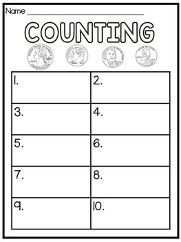 Counting Coins Interactive Digital Resource