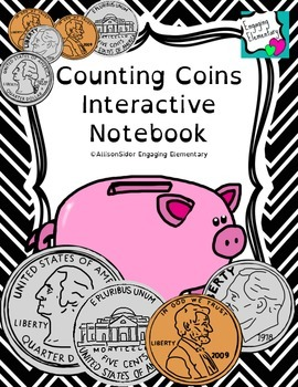 Counting Coins Interactive Notebook