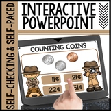 Counting Coins Interactive Powerpoint