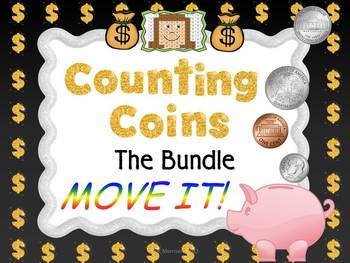 Counting Coins MOVE IT - The Bundle