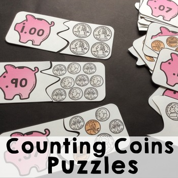 Counting Coins-Matching Puzzles