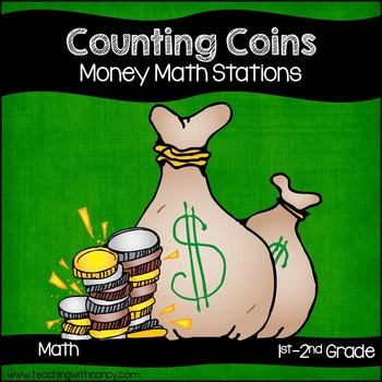 Counting Coins Math Center Activities