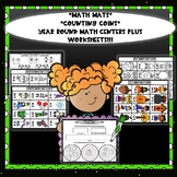 Counting Coins Math Centers and Worksheets