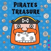 "Counting Coins Math ""Pirate's Treasure"" Theme Centers, Wor"