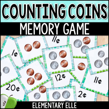 Counting Coins Memory Match {Math Mini-Center}