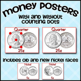 Counting Coins Money Posters