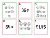 Counting Coins (Money) Write the Room Math Center