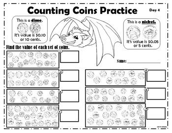 Counting Coins:Nickels and Dimes