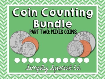 MONEY: Counting Coins: Part 2: Mixed Coins
