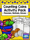 Counting Coins - Pennies, Nickels, Dimes - Summer