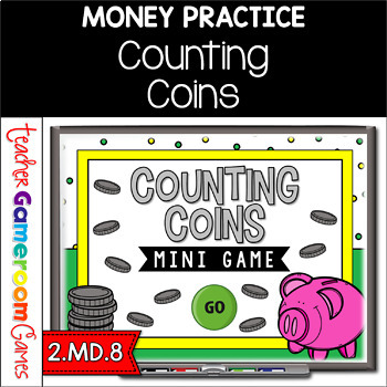 Counting Coins Powerpoint Mini Game