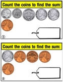 Counting Coins Practice Cards