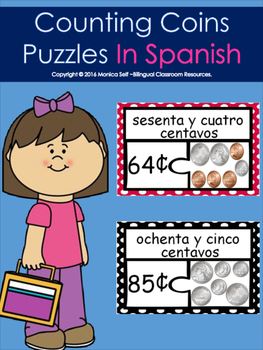 Counting Coins Puzzles In Spanish