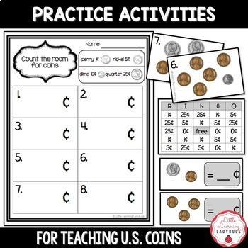 Counting Coins {Resources for Teaching U.S. Coins}