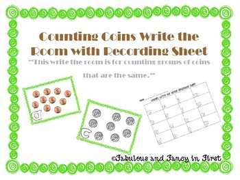 Counting Coins (Same Groups of Coins)