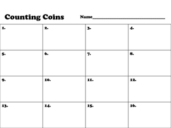 Counting Coins Self-Check