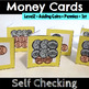 Counting Coins Self Checking Cards for Kindergarten through Second Grade