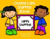 Counting Coins Shopping Activity