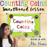 Money - Counting Coins SmartBoard File