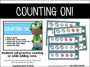Counting Coins- St. Patrick's Day Craft