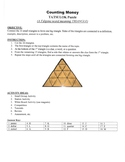 Counting Coins TRIANGLE Puzzle