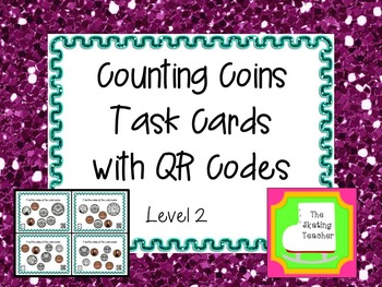 Counting Coins Task Cards - Level 2