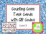 Counting Coins Task Cards - Level 3