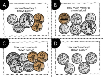Counting Coins Task Cards {Money}